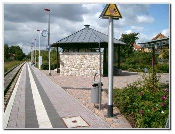 Der Gundersheimer Bahnhof