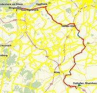 Tour 5 - Bingen; Quelle: Radwanderland.de